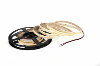 LED Streifen COB-240-5m 24V 50W 3000K, ww, Warm White (8mm, 480chips, IP20)