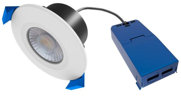 LED Downlight DL94A-R-65 AX-6W Farbwechsel, CCT 3000-6000K TRIAC-Dimm, set