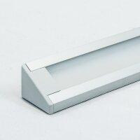 LED Aluminium Eckprofil Set CORNER 10mm (2m) eloxiert...