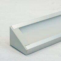 LED Aluminium Eckprofil Set CORNER 27mm (2m) eloxiert...