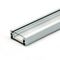 LED Aluminium Anbauprofil Set SURFACE 14mm (2m) eloxiert...